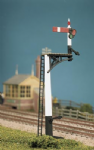 466 Ratio: ADVANCED CONSTRUCTION SIGNAL KITS  GWR Square Post (4 Signals inc Jcn/Brackets)